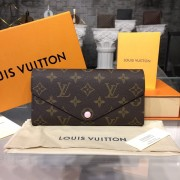Louis Vuitton M41739 Joséphine Wallet Monogram Canvas Rose Ballerine