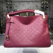 Louis Vuitton M43257 Artsy MM Monogram Empreinte Leather Raisin