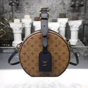 Louis Vuitton M43510 Petite Boite Chapeau Monogram Reverse Canvas