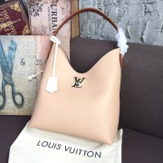 Louis Vuitton M44330 Lockme Hobo Beige