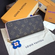Louis Vuitton M63896 Clémence Wallet Monogram Canvas