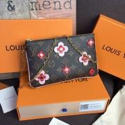 Louis Vuitton M63905 Pochette Double Zip Monogram Canvas