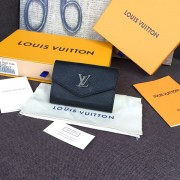 Louis Vuitton M63921 Lockmini Wallet Lockme Black