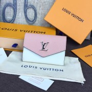 Louis Vuitton M63978 Lockmini Wallet Lockme ROSE BALLET BLANC MAITO NOIR