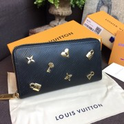 Louis Vuitton M63991 ZIPPY WALLET Epi Leather