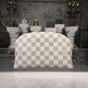 Louis Vuitton N23346 Cosmetic Case GM Damier Azur Canvas