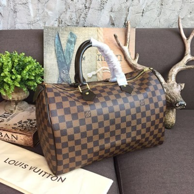 Louis Vuitton N41363 Speedy 35 Damier Ebene Canvas