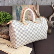 Louis Vuitton N41369 Speedy 35 Damier Azur Canvas