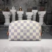 Louis Vuitton N60024 Cosmetic Pouch Damier Azur Canvas