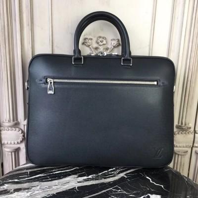 Louis Vuitton M30643 Porte Documents Business Taiga Leather