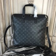Louis Vuitton M40567 Tote Explorer Monogram Eclipse Canvas