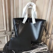 Louis Vuitton M40932 Neverfull MM Epi Leather Noir