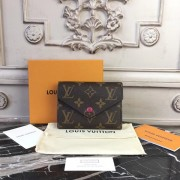 Louis Vuitton M41938 Victorine Wallet Monogram Fuchsia