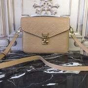 Louis Vuitton M44245 Luxury Monogram Handbag Pochette Metis Papyrus