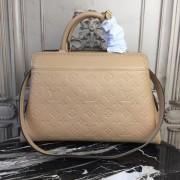 Louis Vuitton M44246 Monogram Empreinte Leather Crossbody Bag Vosges Papyrus