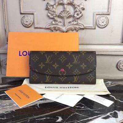 Louis Vuitton M60697 Emilie Wallet Monogram