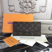 Louis Vuitton M60697 Emilie Wallet Monogram