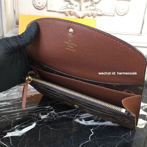 68dc25e92e0 Louis Vuitton M60697 Emilie Wallet Monogram