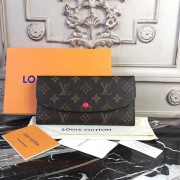 Louis Vuitton M60697 Emilie Wallet Monogram Cherry