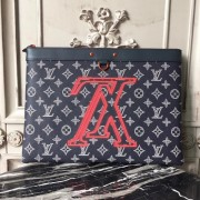 Louis Vuitton M62905 Pochette Apollo Monogram Upside Down Canvas