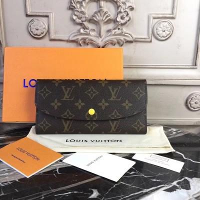 Louis Vuitton M64301 Emilie Wallet Monogram Safran