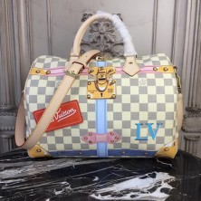 Louis Vuitton N41063 Speedy 30 Damier Azur Canvas