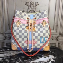 Louis Vuitton N41066 NéoNoé Damier Azur Canvas