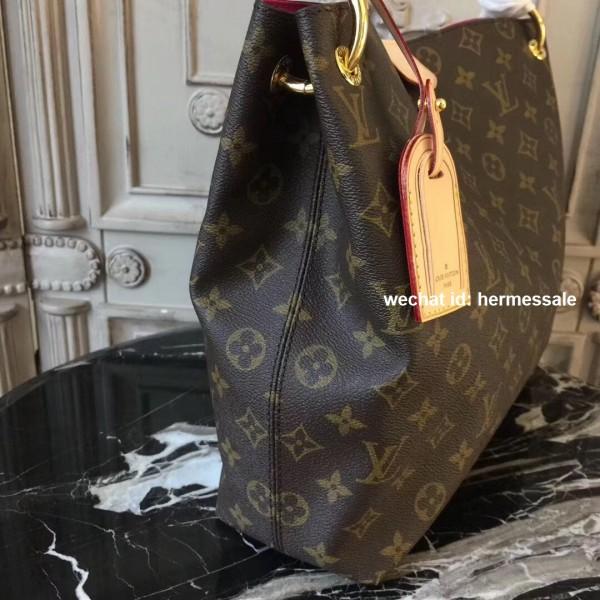 Louis Vuitton M43701 Graceful Pm Monogram Beige