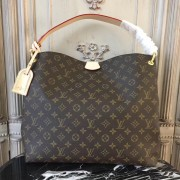 Louis Vuitton M43703 Graceful MM Monogram Pivoine