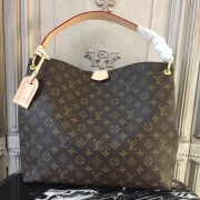 Louis Vuitton M43704 Graceful MM Monogram Beige