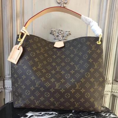 Louis Vuitton M43704 Graceful MM Monogram Beige