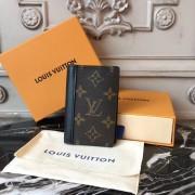 Louis Vuitton M60111 POCKET ORGANIZER Monogram Macassar Canvas