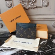 Louis Vuitton M60166 Néo Card Holder Monogram Macassar
