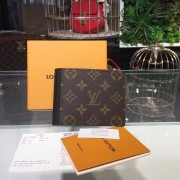 Louis Vuitton M60411 Mindoro Wallet Monogram Macassar Canvas