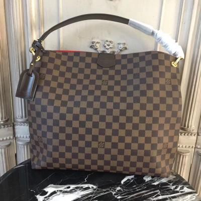 Louis Vuitton N44045 Graceful MM Damier Ebene Canvas
