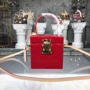 Louis Vuitton M52464 Bleecker Box Monogram Vernis Leather Cerise