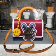 Louis Vuitton M52513 Twist MM Epi Leather Fuchsia