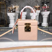 Louis Vuitton M52516 Bleecker Box Monogram Vernis Leather Rose Ballerine
