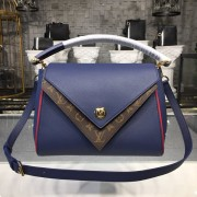 Louis Vuitton M55022 Double V Other leathers Bleu marine