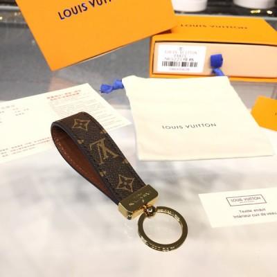 Louis Vuitton M65221 Dragonne Key Holder Monogram Canvas