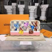 Louis Vuitton N60139 Zippy Wallet Damier Azur Canvas