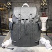 Louis Vuitton N92159 CHRISTOPHER BACKPACK Autruche