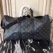Louis Vuitton M40569 Keepall 45 Bandoulière Monogram Eclipse Canvas