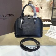 Louis Vuitton M40862 Alma BB Epi Leather Noir