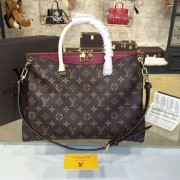 Louis Vuitton M40906 Pallas Monogram Canvas and Leather Handbag