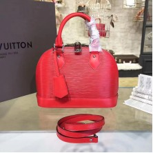 Louis Vuitton M41160 Alma BB Epi Leather Coquelicot