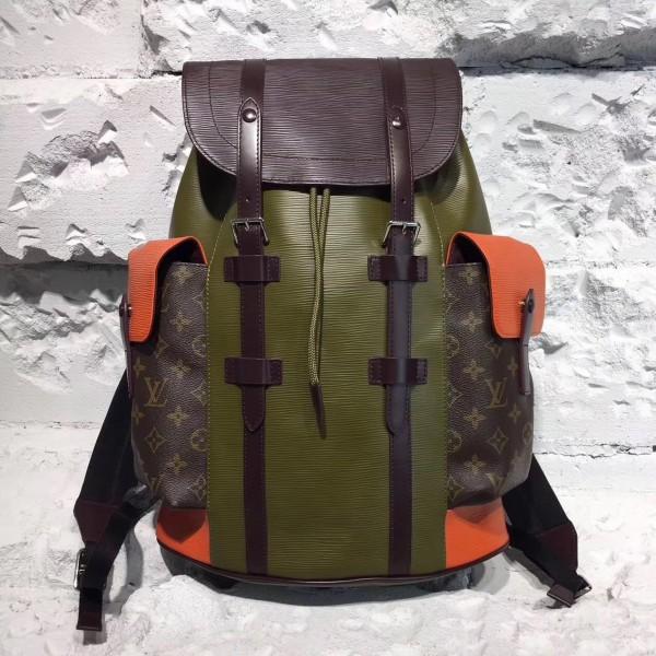 5febe10a7686 Louis Vuitton M53425 Christopher PM Epi Leather