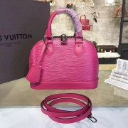 Louis Vuitton M42048 Alma BB Epi Leather Hot Pink