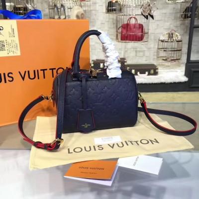 Louis Vuitton M42394 Speedy Bandoulière 20 Monogram Empreinte Leather