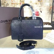 Louis Vuitton M42401 Speedy Bandoulière 25 Monogram Empreinte Leather Noir